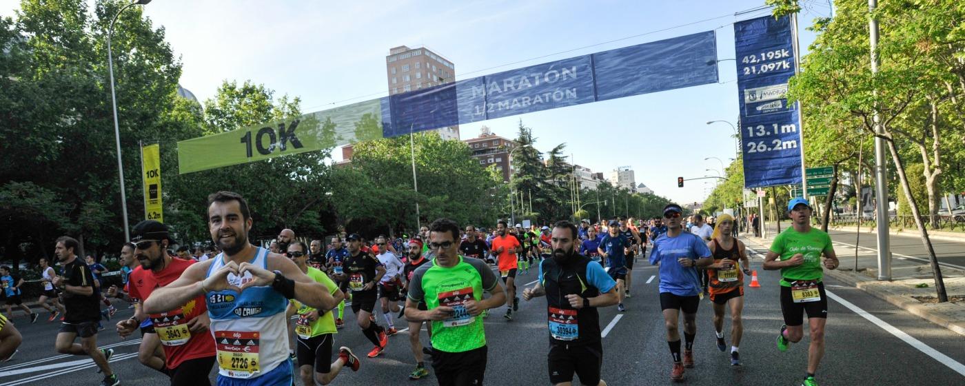 El 40 Aniversario de la Maratón de Madrid