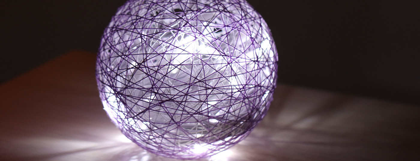 La boule lumineuse de Catherine