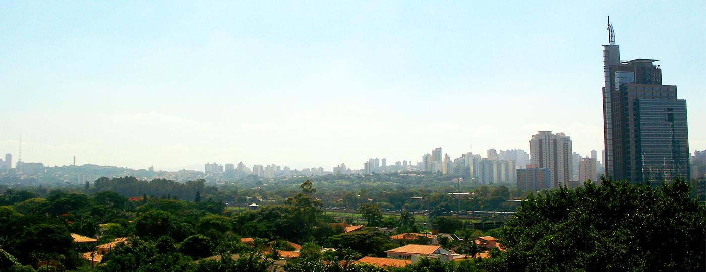 Vista panorâmica do bairro de Pinheiros