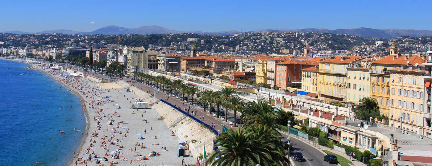 Günstiges Hotel in Nizza: die Schöne in Azurblau