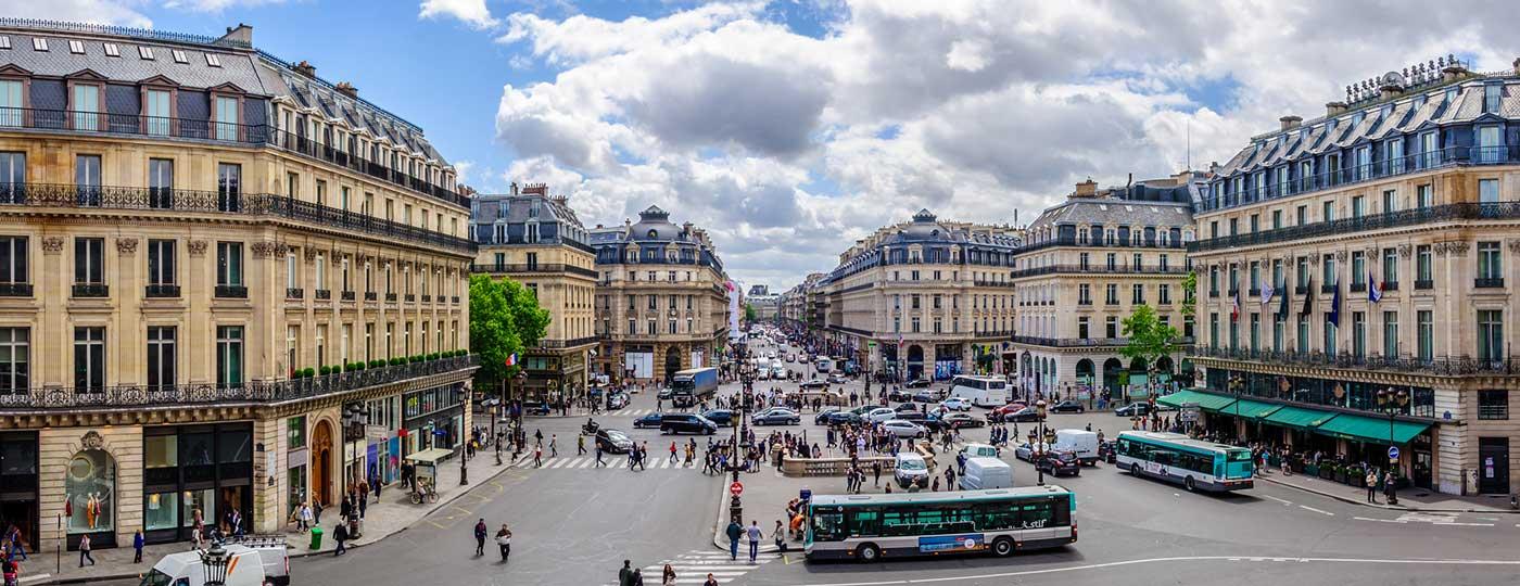 Ein preisgünstiges Hotel in der Nähe des Viertels Opéra: wo das Pariser Leben pulsiert