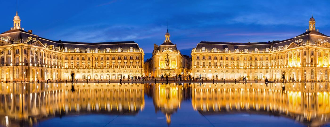 Reisen Sie entspannt mit einem günstigen Hotel im alten Bordeaux
