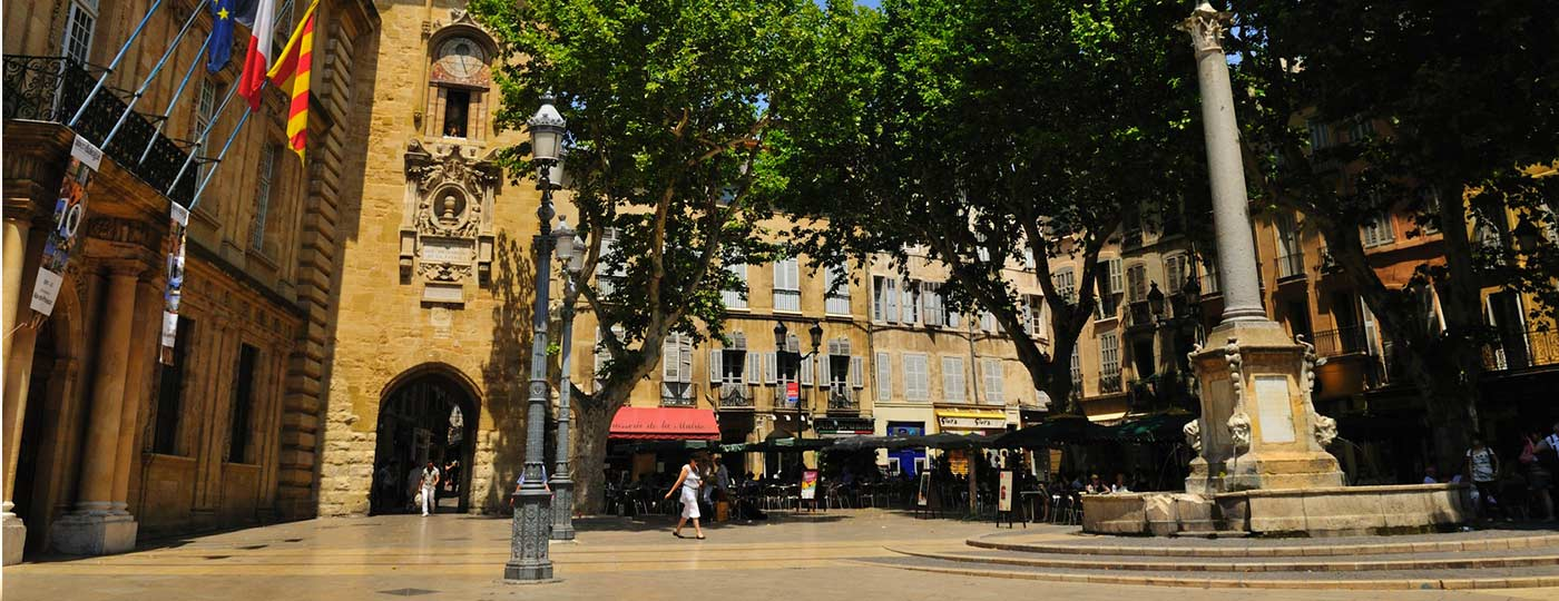 Cheap revitalising holidays in Aix-en-Provence