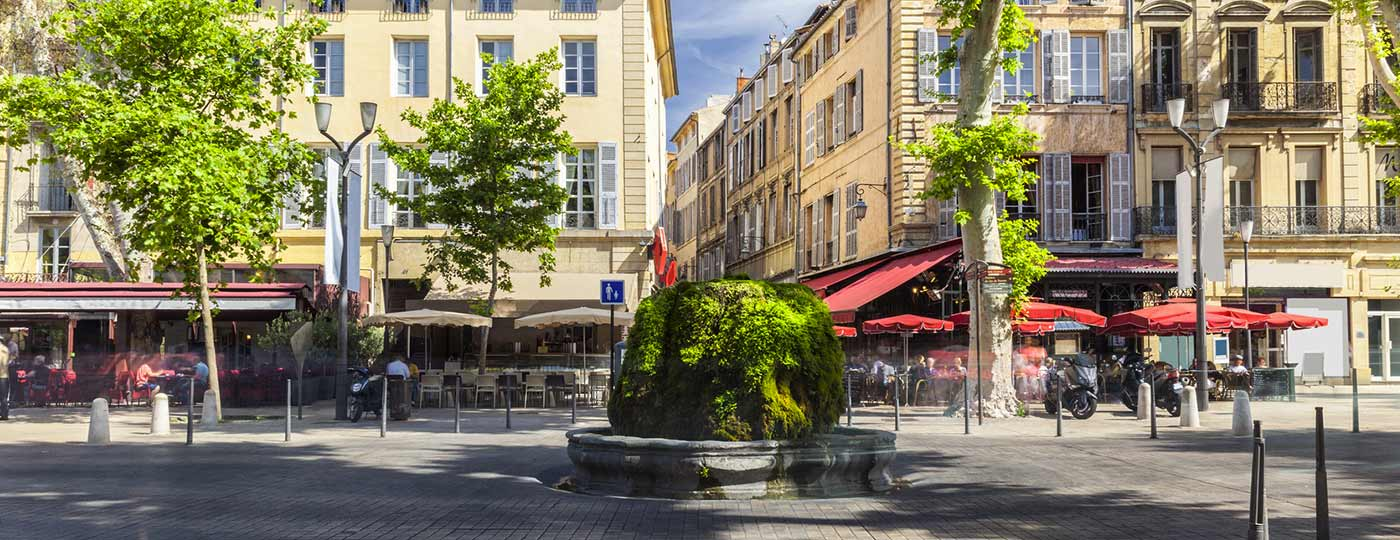 Parti con il cuore leggero per un fine settimana economico ad Aix-en-Provence
