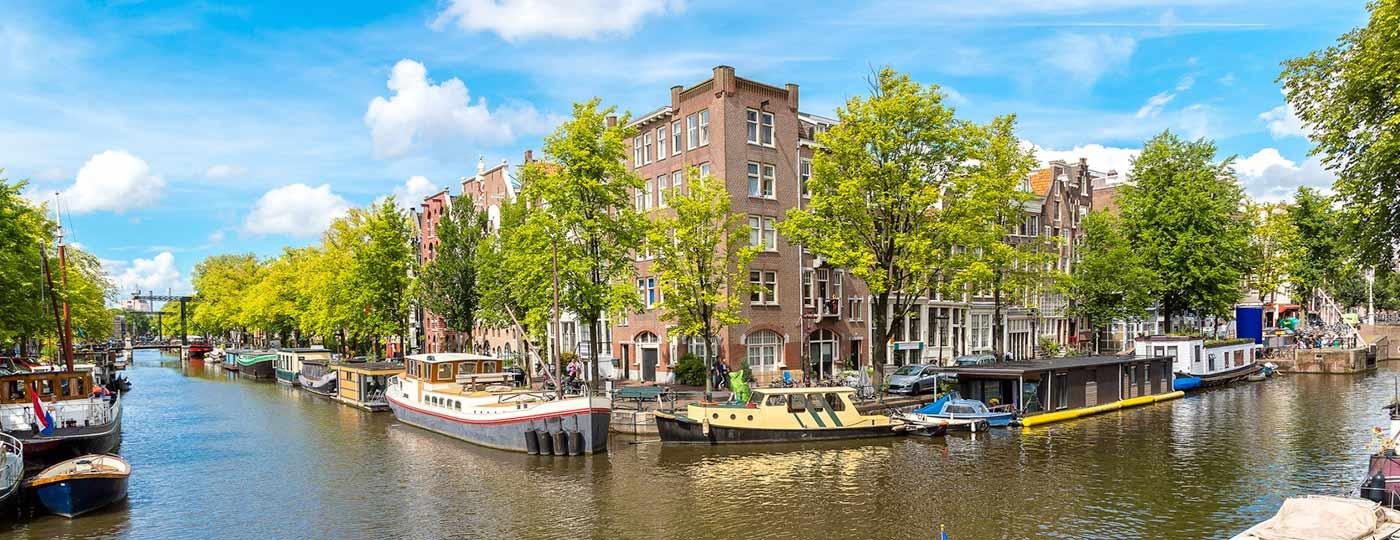 Winter wonder in Amsterdam