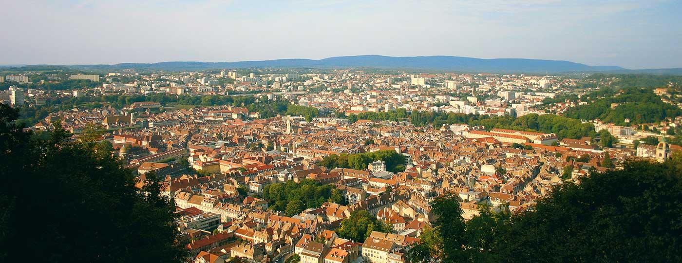Faites escale dans l'Est, avec un hôtel pas cher à Besançon