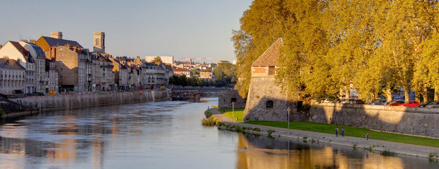 Live life in the sun during a cheap holiday in Besançon