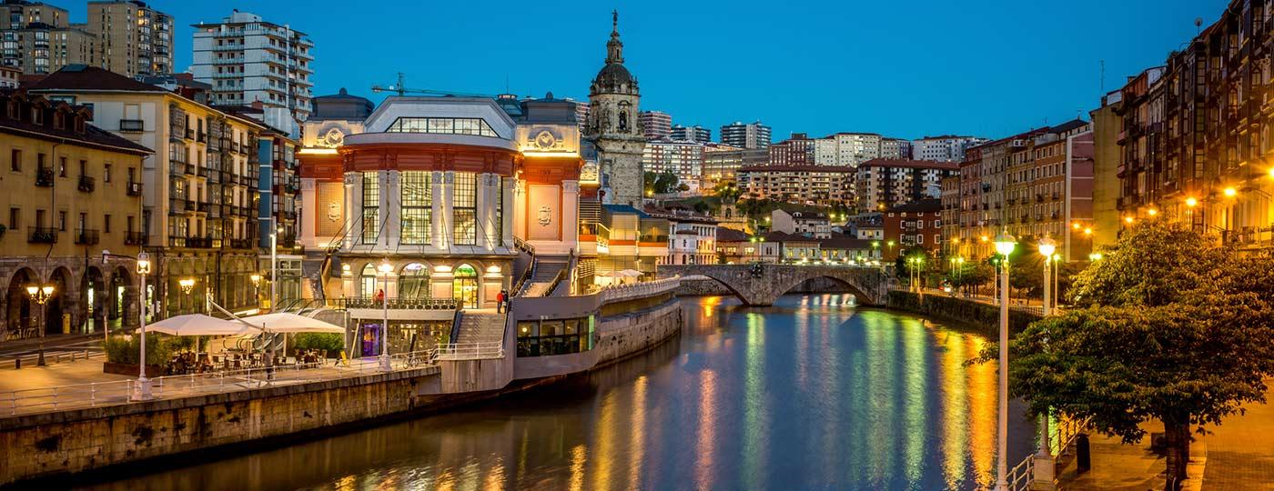 Vistas del Mercado de la Ribera, Bilbao
