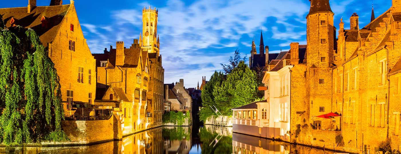 Top terraces in Bruges