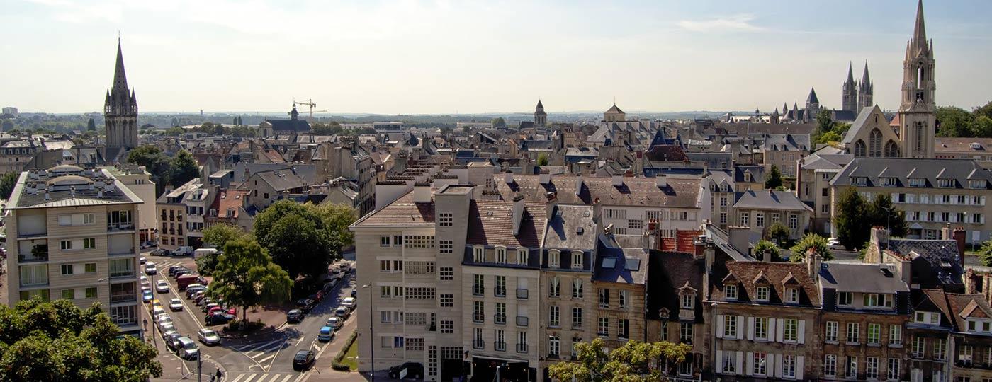 Escápate de nuevo a un hotel barato en Caen
