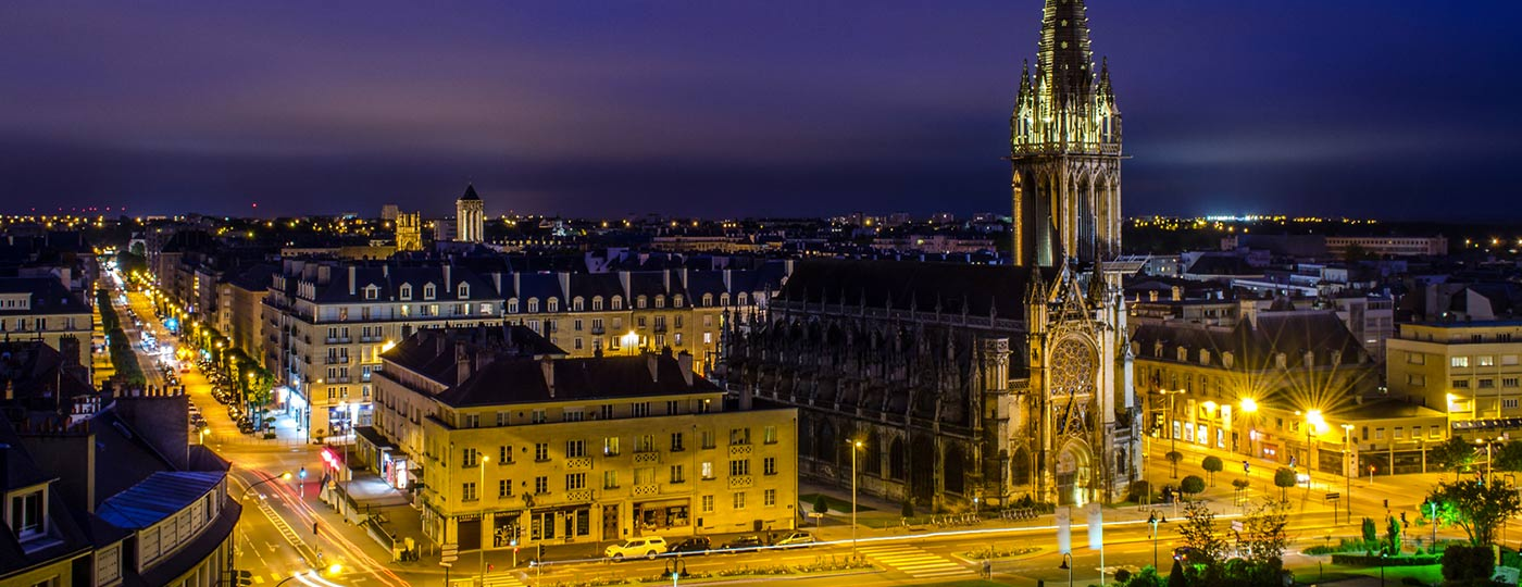 Get a change of scene on a cheap holiday in Caen