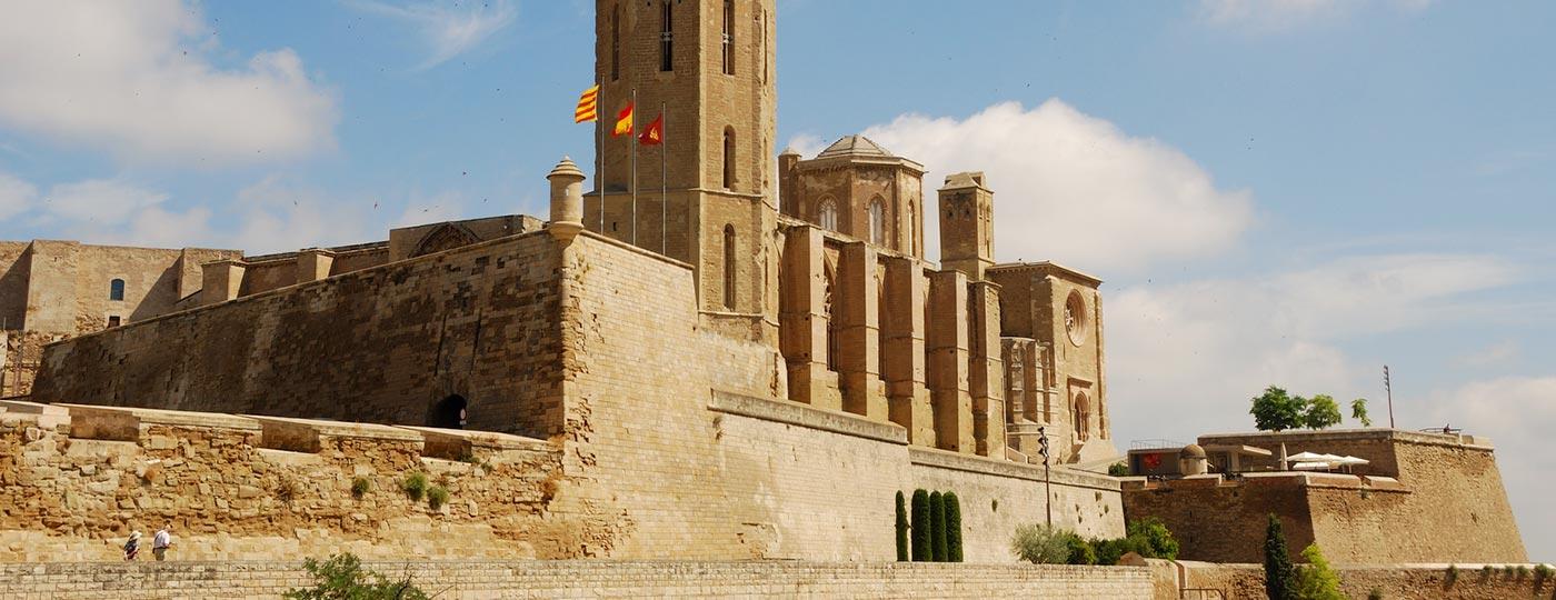 Catedral de la Seu Vella en Lleida, uno de los monumentos más emblemáticos de la ciudad