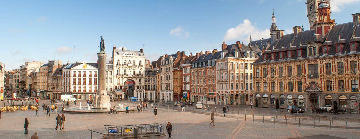 Your own customised cheap weekend in Lille