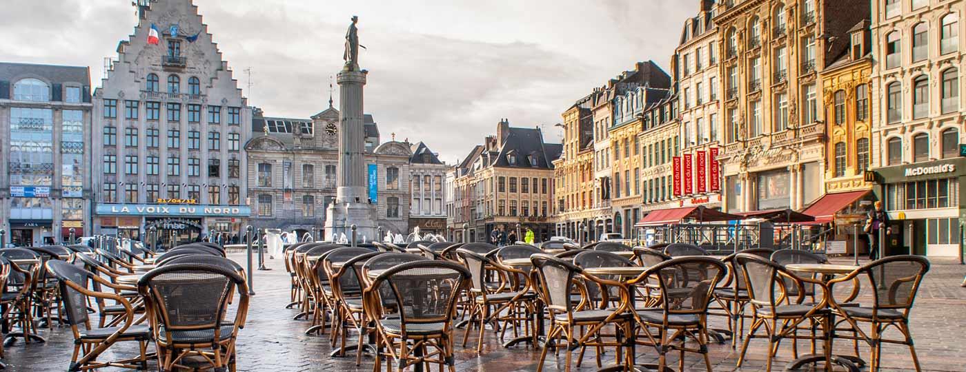 Kurzurlaub in Ihrem günstigen Hotel in Lille.