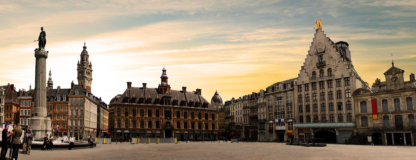 Enjoy an unforgettable cheap holiday in Lille