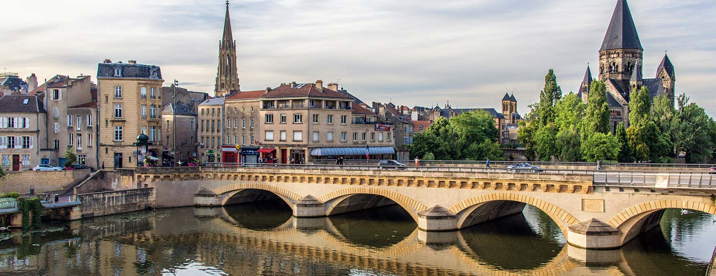 A stay in Lorraine in a low cost hotel in Metz.