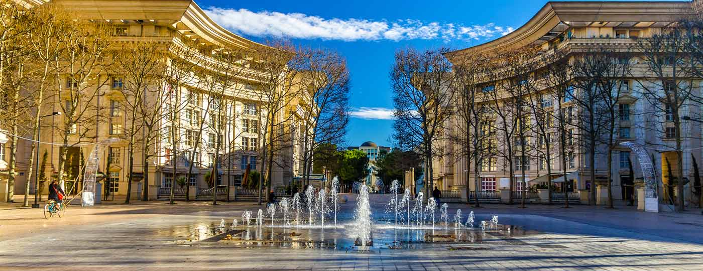 A full immersion historical experience during your low cost holidays in Montpellier