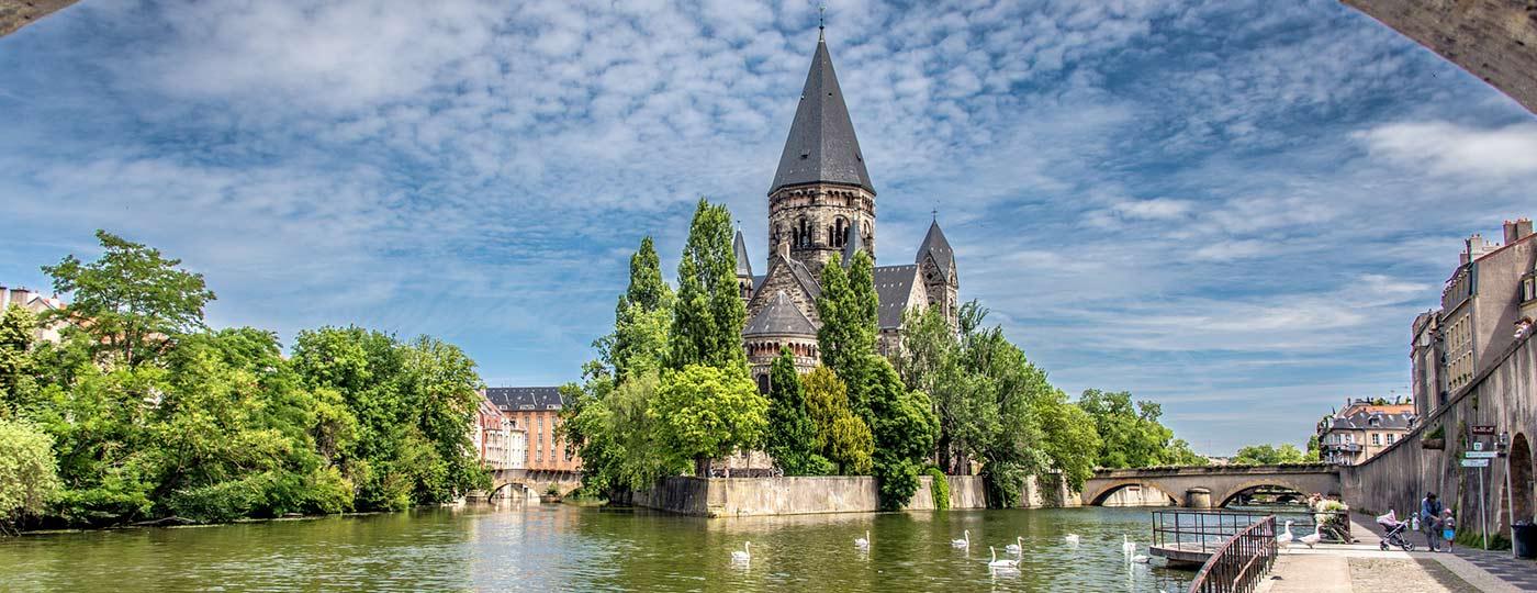 Fin de semana barato en Metz en la Lorena imperial