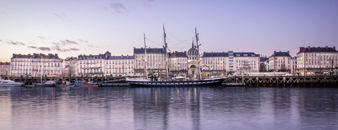 Vacaciones baratas en Nantes. visita una ciudad bien conservada y creativa