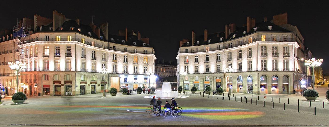 Günstiges Hotel in Nantes: die Herzöge der Bretagne am Ufer der Loire