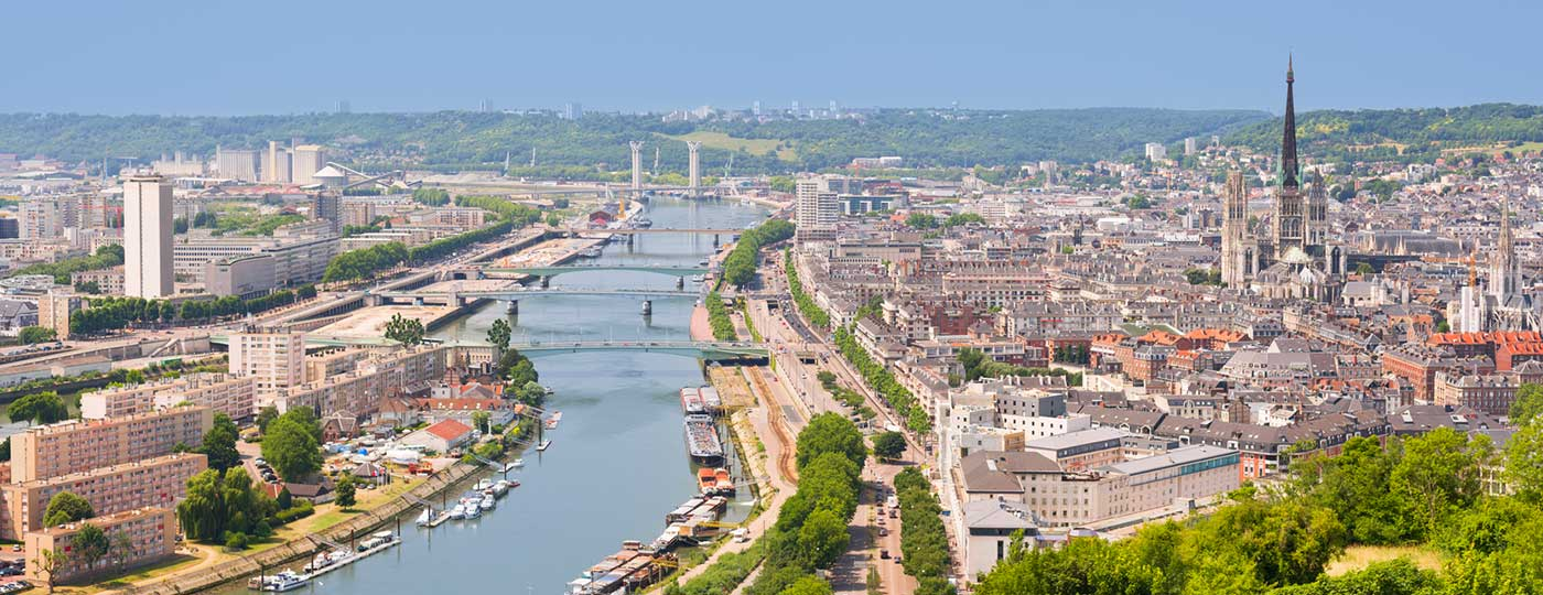 Walk through artistic marvels from your cheap hotel in Rouen