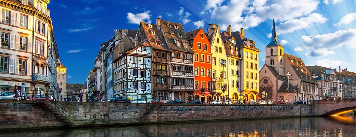 Llegó la hora de descansar en unas vacaciones baratas en Estrasburgo.