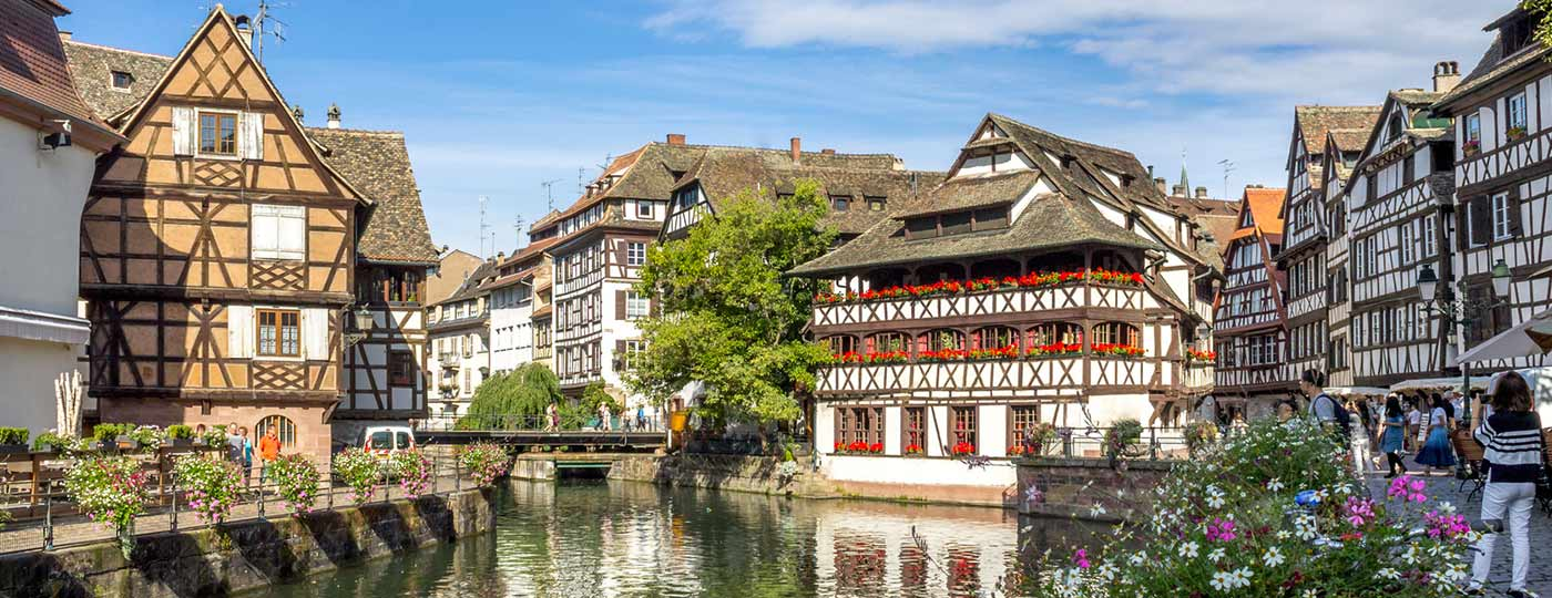 Get away from it all in north-eastern France in a cheap hotel in Strasbourg