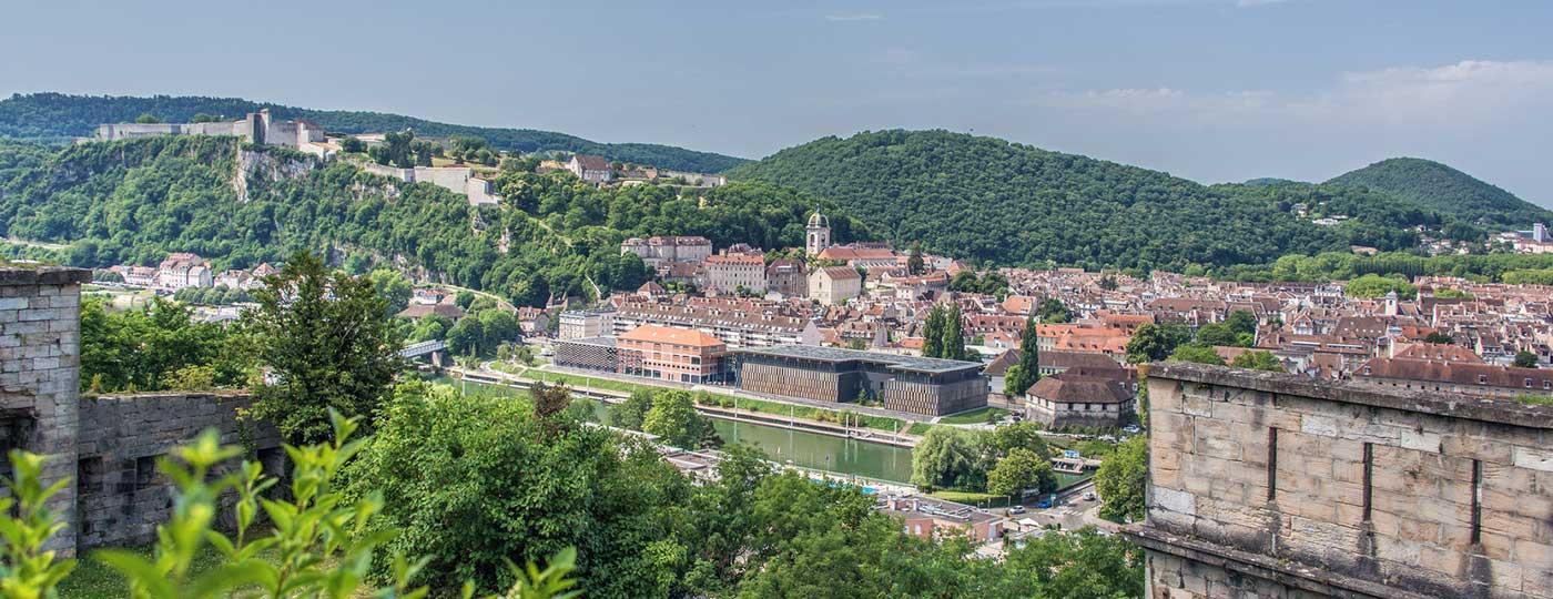 Rundgang durch Besançon für das kleine Budget