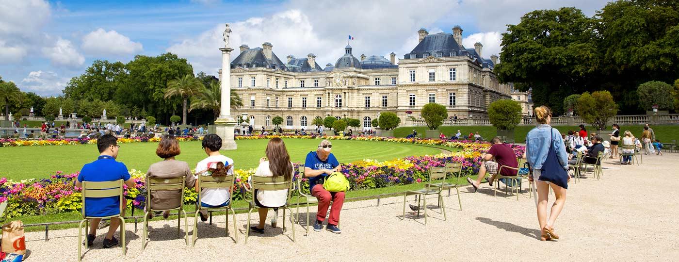 Giardini di Lussemburgo: architettura e natura
