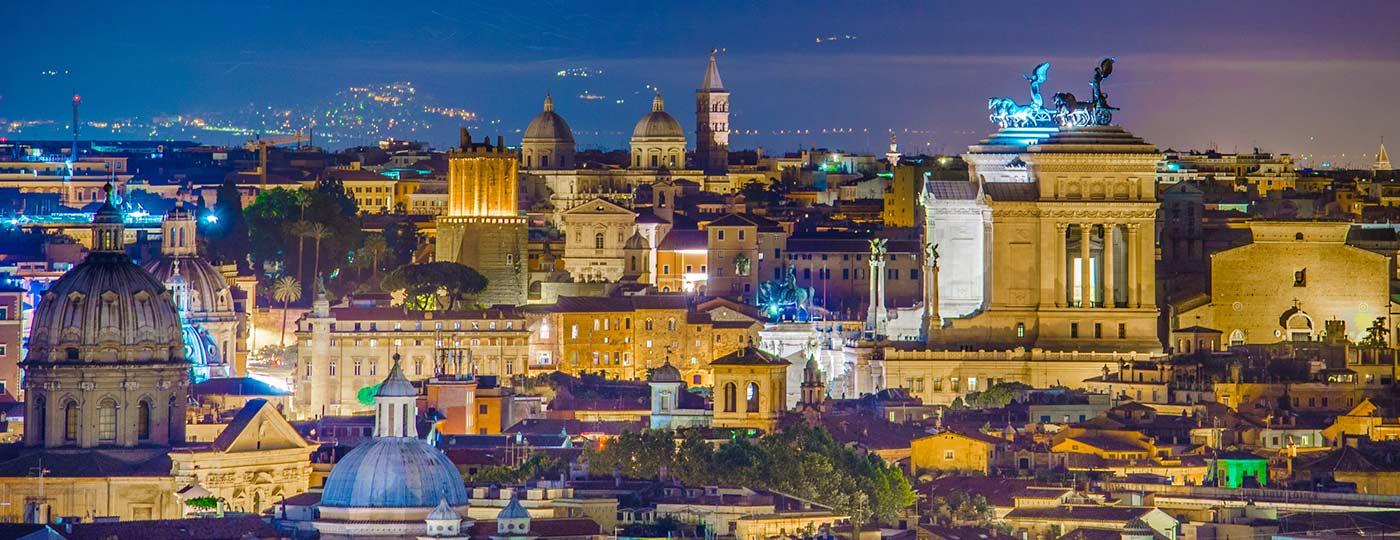 Roma di notte: romantica e divertente