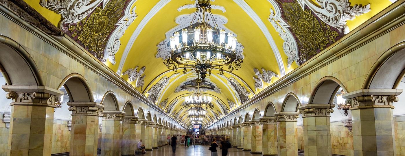 Le stazioni-opere d'arte della metropolitana di Mosca