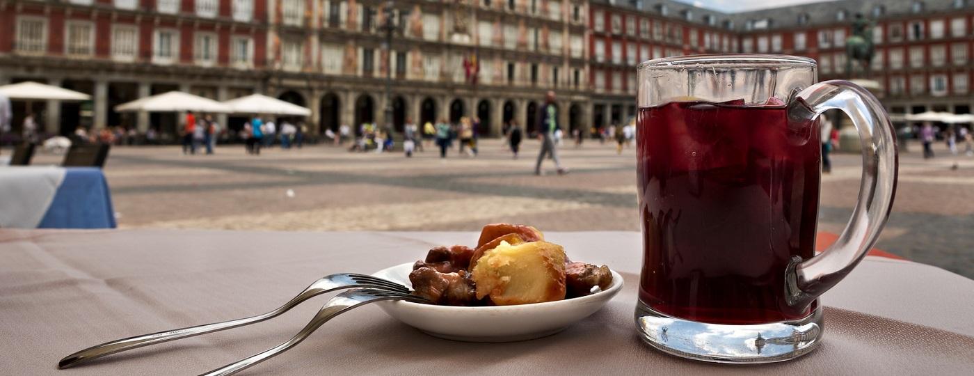 Pranzo a Madrid con tapas spagnole