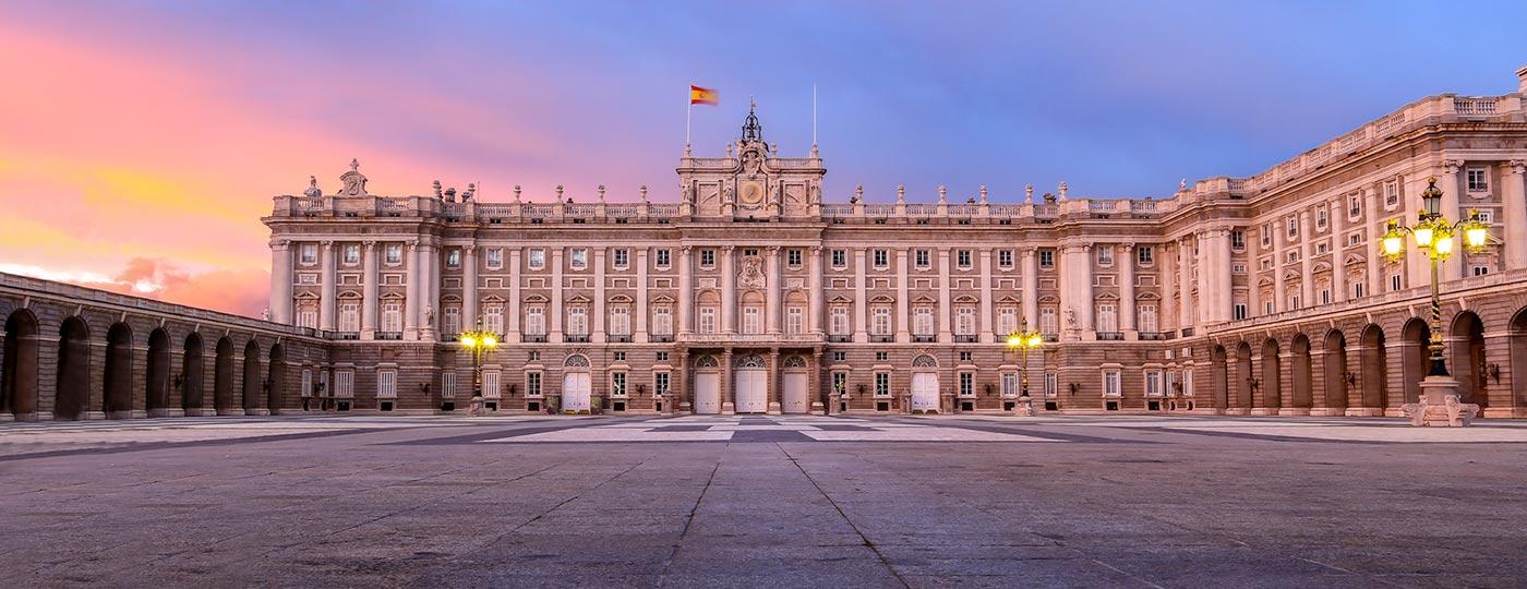 Imagen del Palacio Real de Madrid