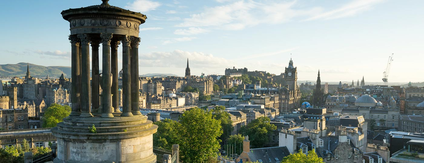 Edinburgh rail holidays