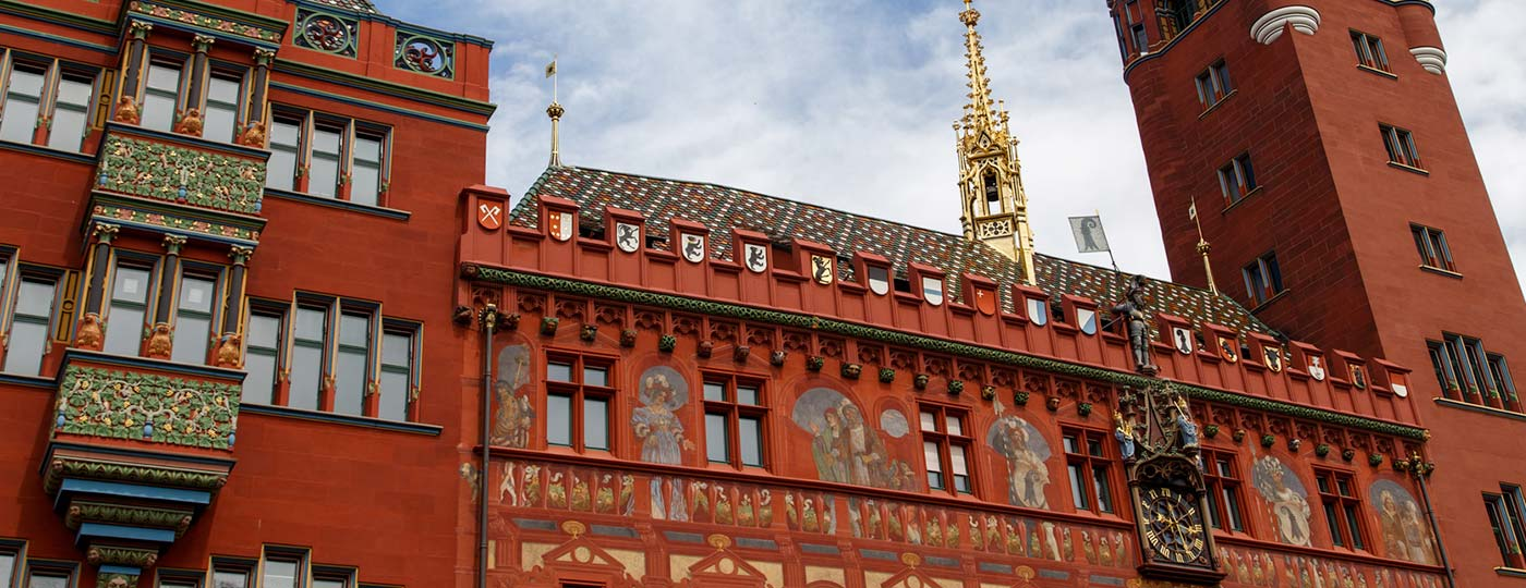 Retrace the steps of Erasmus in Basel, the Swiss cultural capital