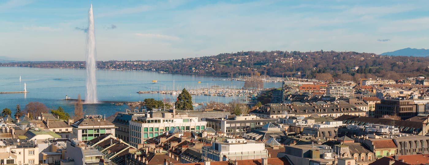 Enjoy a spot of shopping and culture in the city of Geneva