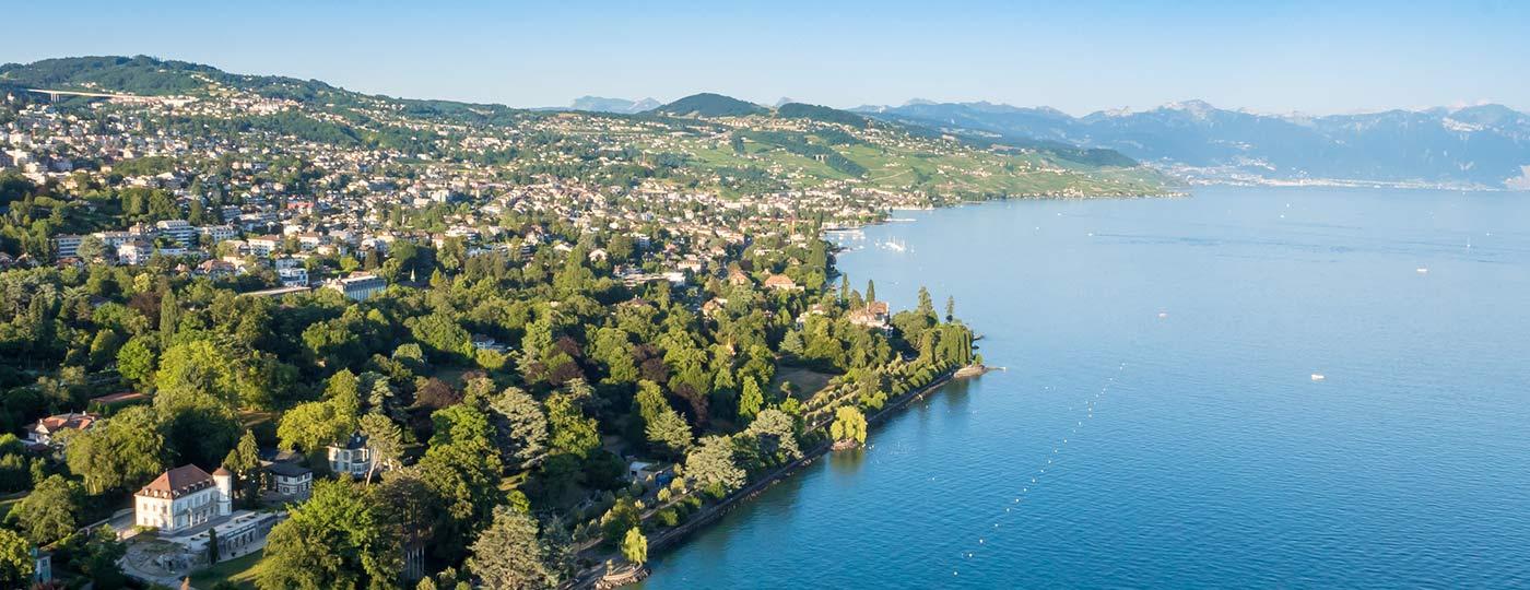 """Besuchen Sie die """"Perle des Genfer Sees"""", das lebendige und attraktive Lausanne"""