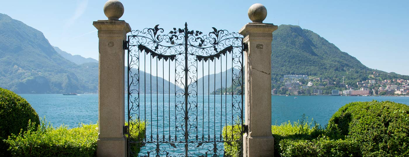 The luxury of contemplation on the banks of Lake Lugano
