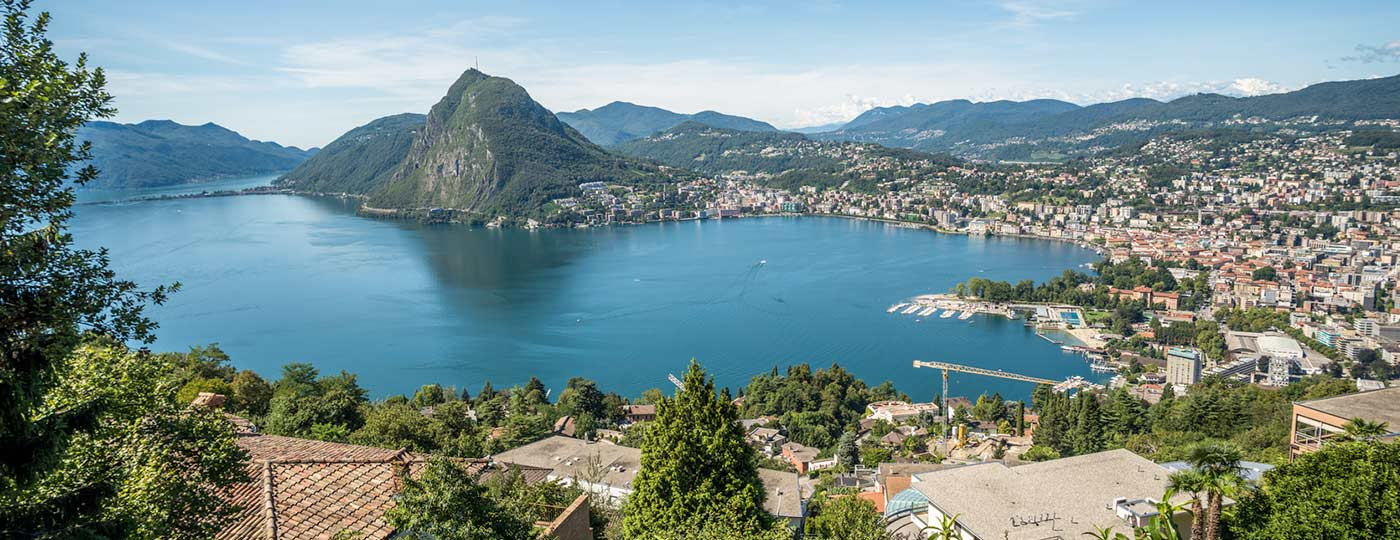 Lugano, postcard scenery in the heart of Southern Switzerland