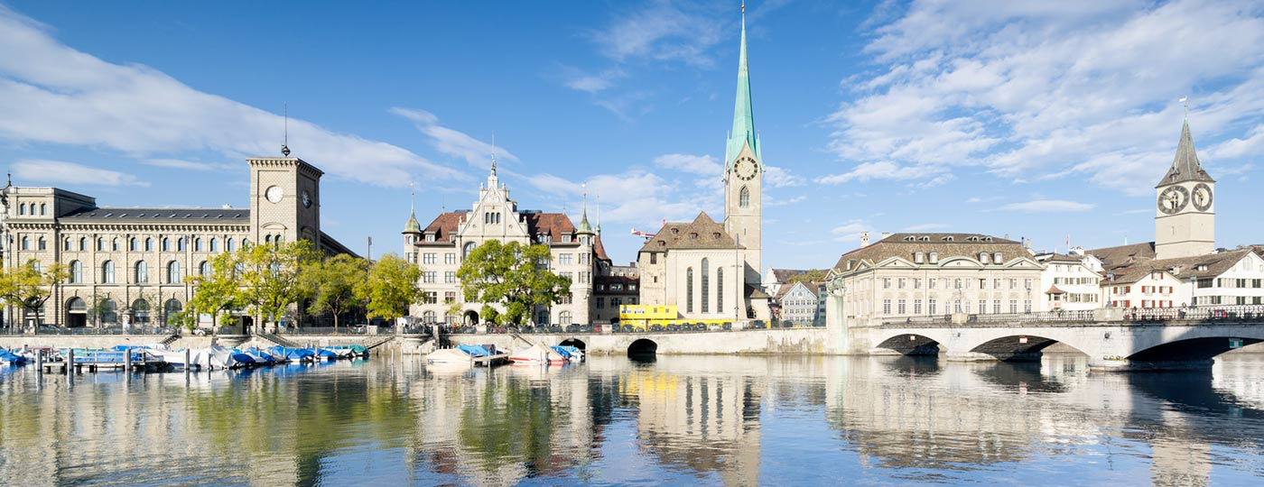 Discover Zürich, between the tranquillity of the lake and the bustle of the Old Town