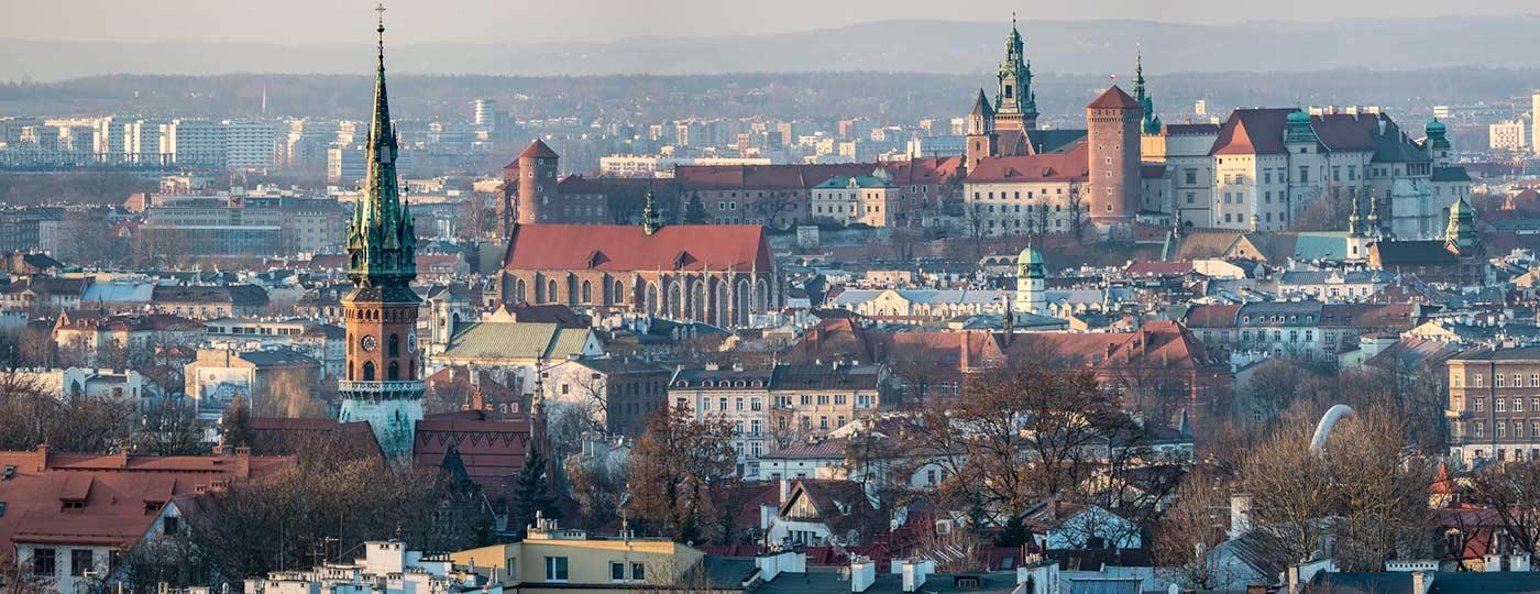 Kraków - wypoczynek z histori? w tle