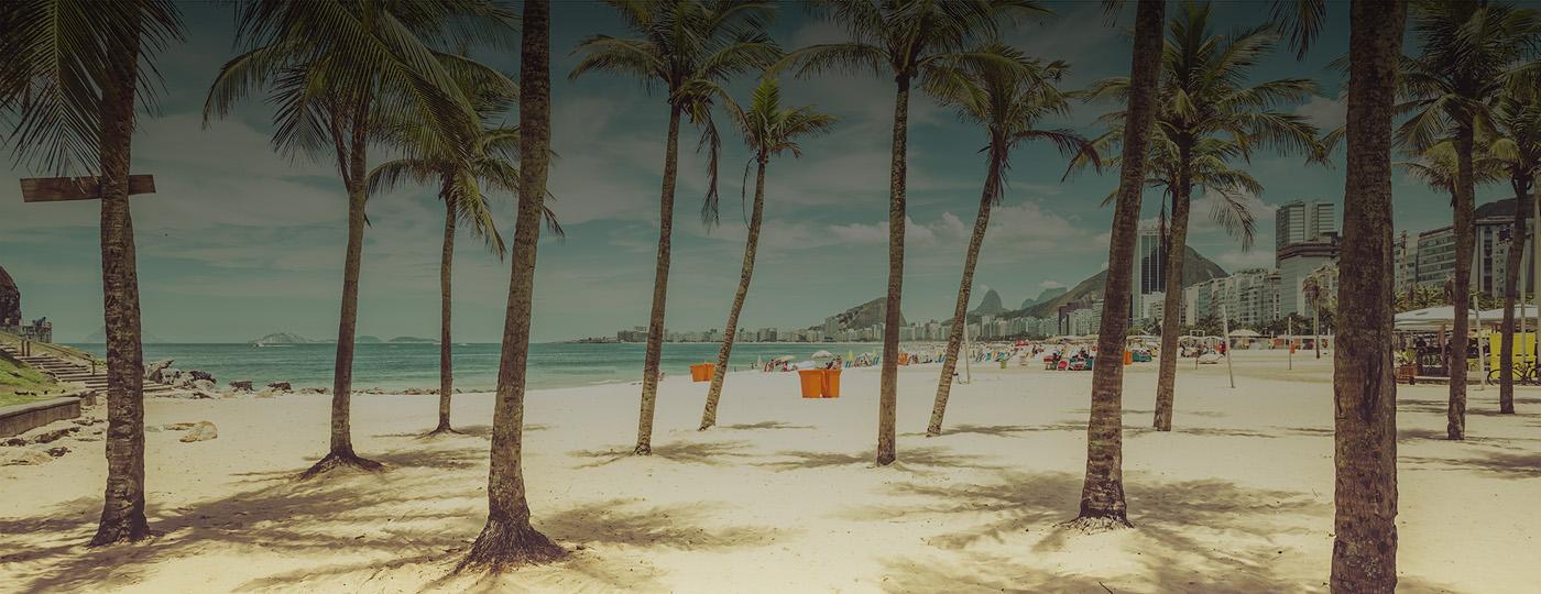 Esportes na praia de Copacabana