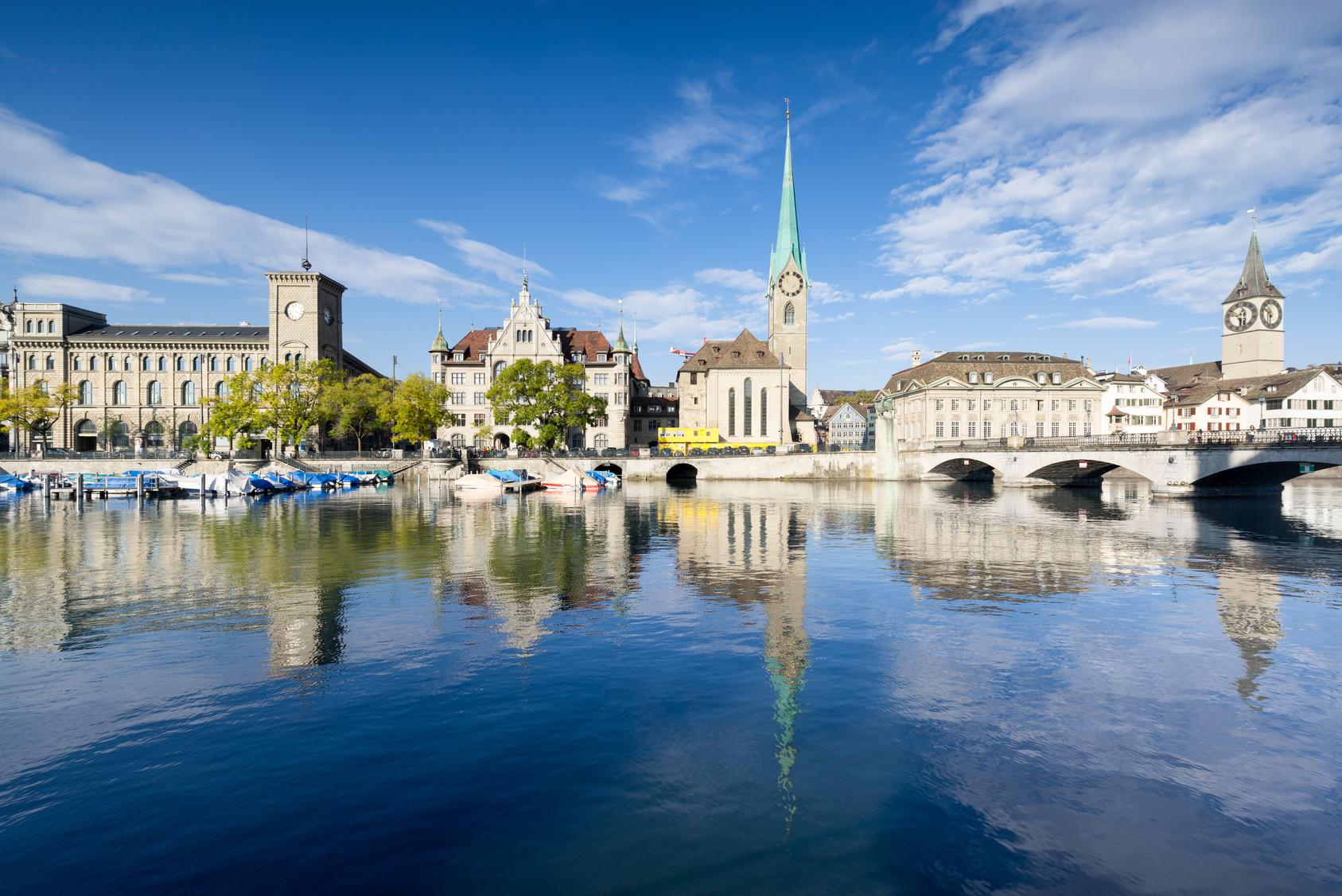 Genießen Sie die Schönheit der Stadt Zürich