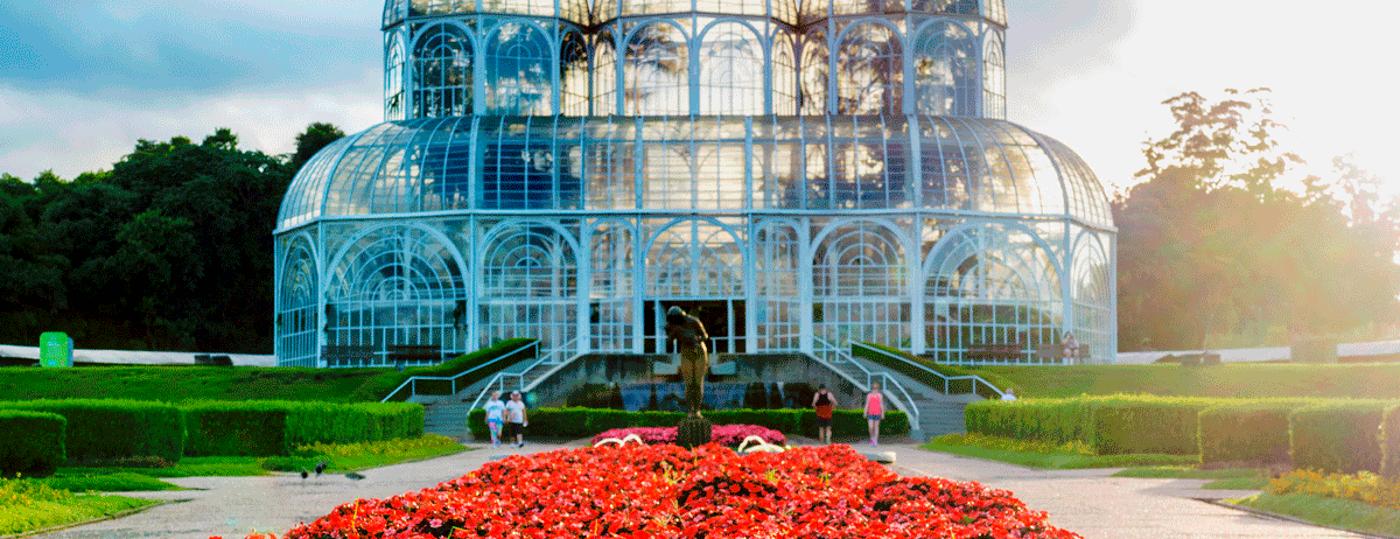 Jardim Botânico, em Curitiba