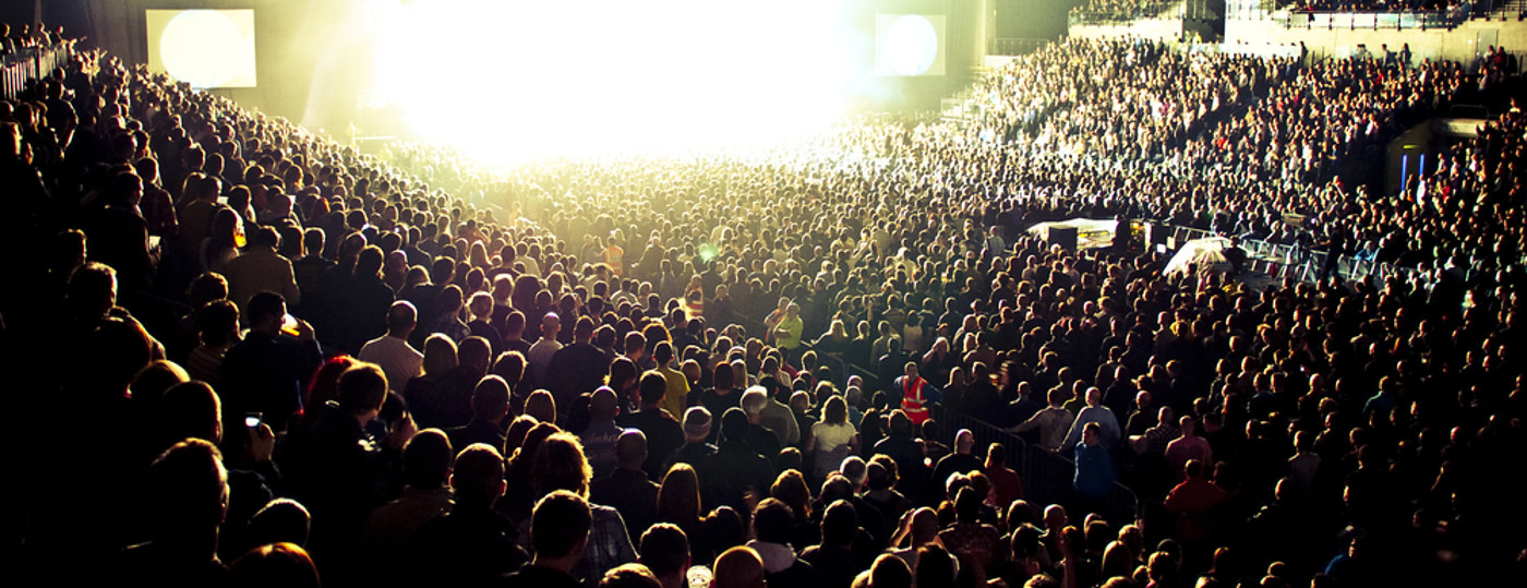 Motorpoint Arena Concert Crowd