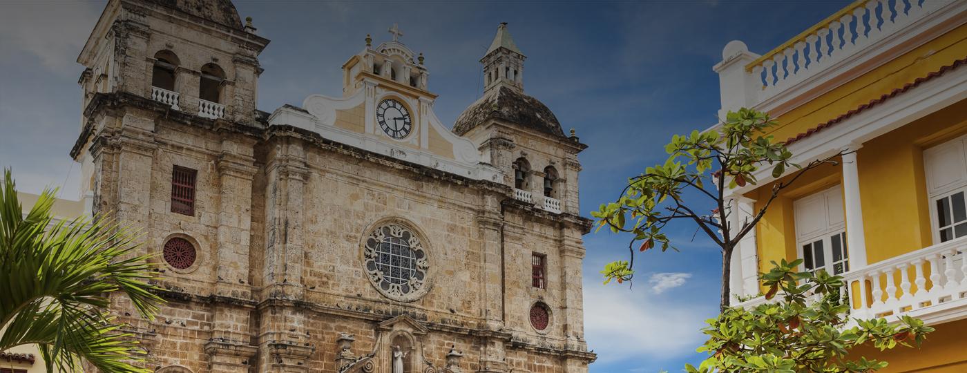 Igreja em Cartagena