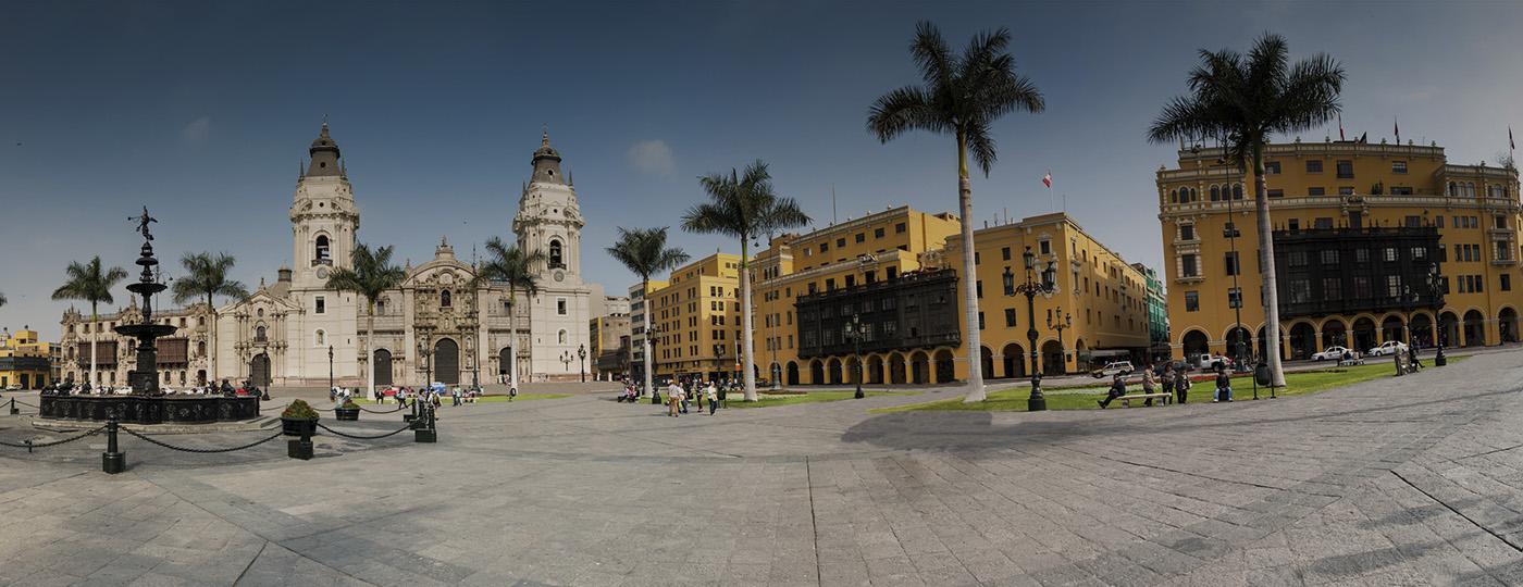Pontos turísticos em Lima