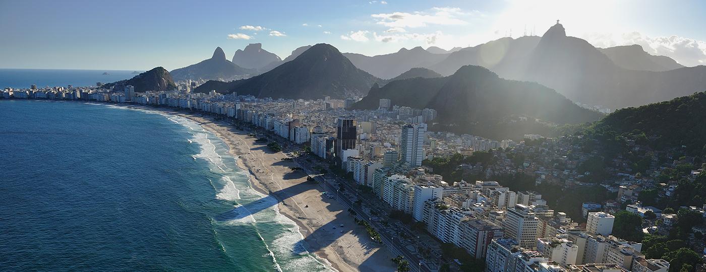 Vista aerea do Rio de Janeiro