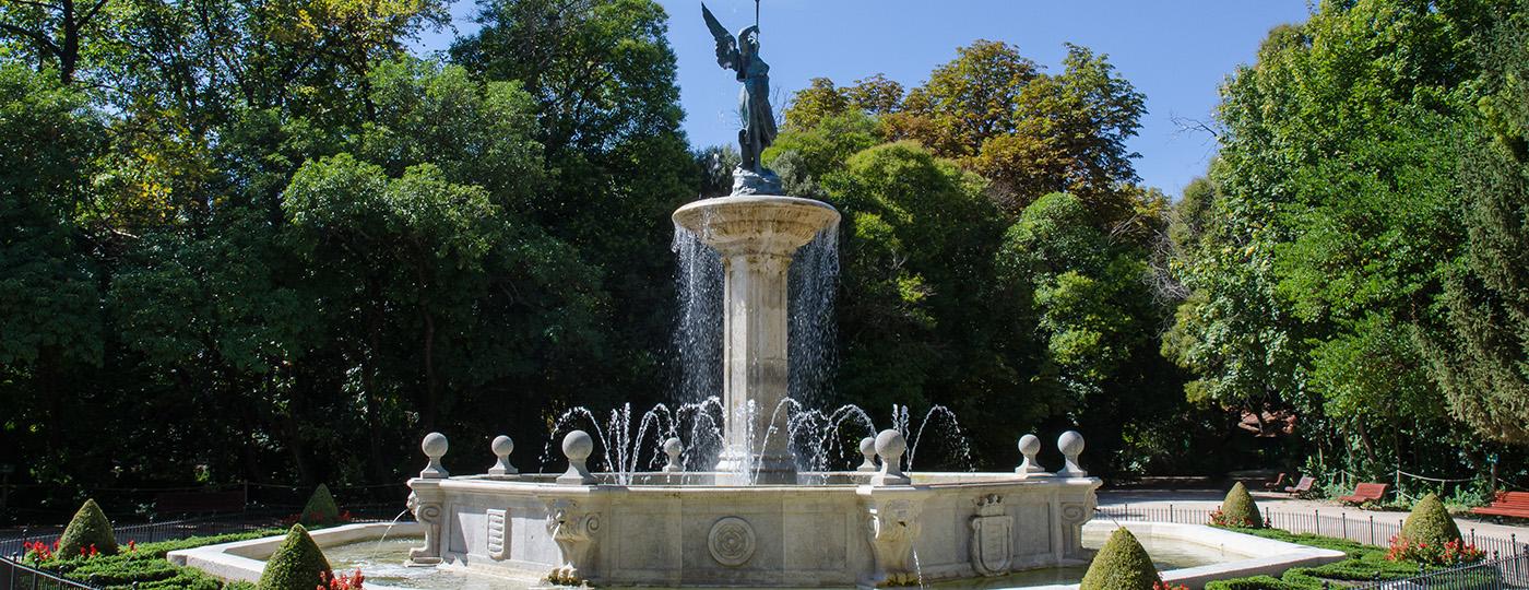 Imagen del parque de Campo Grande, en Valladolid