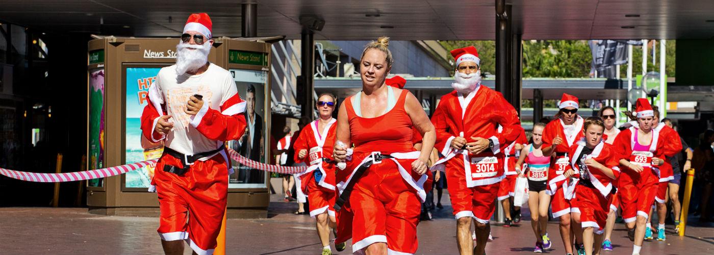 Sydney Santa Fun Run
